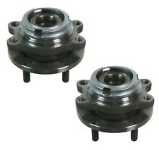 Pair Set 2 Front Moog Wheel Bearing Hub Kit for Infiniti FX50 G37 M37 M45 AWD