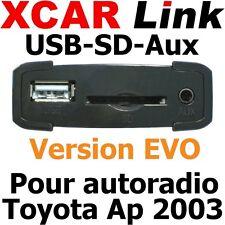 XCARLink USB-SD EVO TOYOTA Ap 2003 Yaris,Auris,Corolla,Rav4,Avensis,Land Cruiser