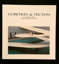 Lubetkin and Tecton An Architectural Study Reading & Coe  British Modernism RARE