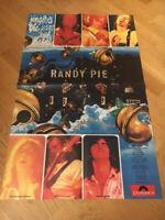 RANDY PIE Kravetz WERBEPOSTER Polydor JINGLERS JEANS C&A von 1975 Größe: 80x50cm