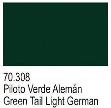 Modello VERNICE Vallejo Panzer Aces 17ml VERNICE ACRILICA val308 GREEN TAIL LIGHT