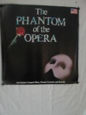 PHANTOM OF THE OPERA US ORIGINAL BROIADWAY CAST ALBUM PROMO POSTER