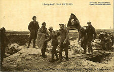 MILITARY : DAILY MAIL BATTLE PICTURES- Wounded 'Tommy'  ..'I'm not a German!'