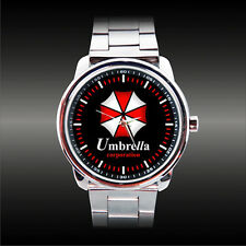 New Umbrella Corp. Logo Pharmaceutical Corporation Resident Evil Biohazard Watch