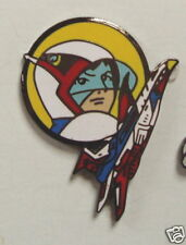 GATCHAMAN GACHAMAN  G FORCE KEN ENAMEL PIN  FROM JAPAN VINTAGE MINT