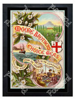 Historic Moore Brothers' Choice Teas 1890s Advertising Postcard