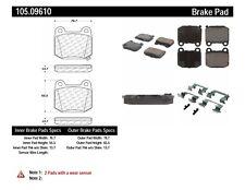 Centric Parts 105-09610 REAR Brake Pads Posi Quiet Ceramic Subaru Nissan Toyota