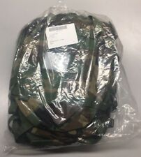 (10) USGI US MILITARY MOLLE II RADIO POUCH Rifleman Backpack Woodland Camo New