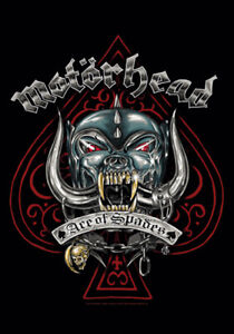 "Motorhead Fabric Poster Flag 30"" x 43"" Ace of Spades"