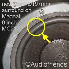 Magnat 8 Zoll Ribbon, Zero, Sigma > 2x Original-Sicken Kurt Müller SR183/4