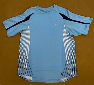 Nike Roger Federer RF 2006 Indian Wells Australian Crew Tennis Shirt PE Promo L