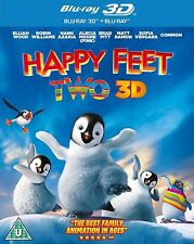 Blu ray HAPPY FEET TWO 2 tru 3D and 2D. Brand new sealed.