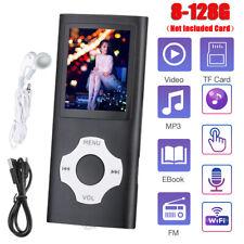 New listing Mp3 Player Media Fm Radio Recorder Hifi Sport Portable Music Speakers 8-128Gb Us