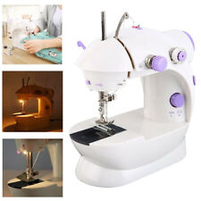 Portable Electric Sewing Machine Desktop Household DIY Tailor 2 Speed Foot Pedal
