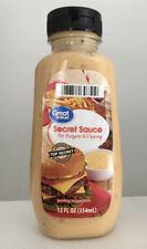 Great Value Secret Sauce For Burgers! Condiment McDonalds BIG MAC Like Sauce