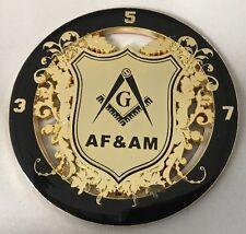 Freemason Masonic 357 AF & AM Cut Out Car Emblem