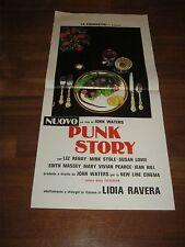 Locandina S/6  PUNK STORY, JOHN WATERS, Desperate Living,Massey,EROTICO SEX