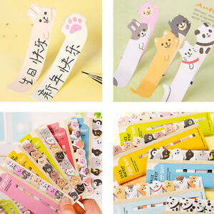 Memo Sticker Cartoon Animal Sticker Memo Bookmark Marker Tab Flags Index YO