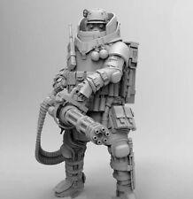 "1/24 Scale Resin Figure ""Gunner"" Unfinnished, Unpainted etc"