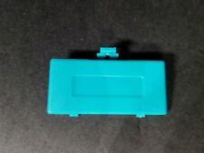 Verde Azulado Game Boy Bolsillo Batería de Recambio Tapa Compartimiento Nuevo