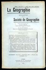 GEOGRAPHIE LILLE NANCY ALLEMAGNE RESSOURCE AMBITION WW1