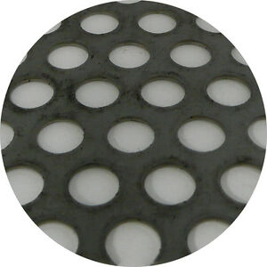Stainless Steel 304 Perforated Sheet 2m x 1m x 1.5mm R10 T15 Bin 123 - 520115070