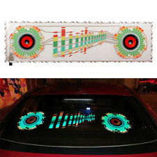 12V Car Sticker Music Rhythm LED Flash Lamp Sound Activated light Colorful New