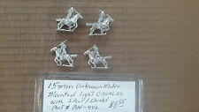 15mm  Unknown make Mounted Light Cavalry  with Spear / Shield