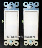 2X White Electric On/Off Decora Rocker WALL LIGHT SWITCH Residential Replacement