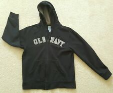 OLD NAVY Hoodie Sweatshirt Zip Up Warm Fleece Size 14 / 16 Blue