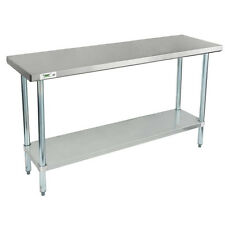 "Regency 18"" x 60"" Stainless Steel Work Prep Table Commercial Restaurant 18 Gauge"