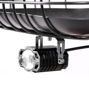 Car Boat Motorcycle External LED Headlight Driving Fog Spot Light High/Low Beam