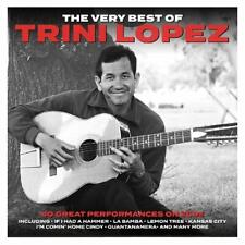 Trini Lopez - The Very Best Of / Greatest Hits 2CD 2019 NEW/SEALED