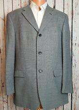 "Marks & Spencer Italian Merino Wool Black & White Check Sports Jacket Blazer 40"""