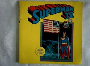 Vintage 1987 SUPERMAN IV 4 Scholastic Storybook from Movie Film 50th anniversary