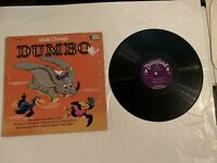 Walt Disney's Dumbo ST 3904 LP Record and Book Told by Tomothy Mouse