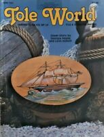Jun 1981 Tole World Magazine Tole Decorative Painting Instruction Patterns 7289F
