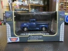 1:87 HO Scale 1956 Ford F-100 Pick UP Truck American Classics 1:87 Motor Max