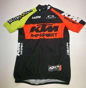 Impsport KTM Mens Cycling Jersey, Size M, Black Mix, Good Condition AC1