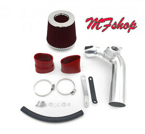 Red For 2008-2014 Mitsubishi Lancer 2.0L 2.4L L4 Air Intake Kit + Filter
