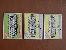 1966 Topps #137  California Angels team card, autographed by Jim Fregosi, d-14