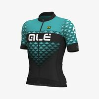 Ale Cycling PR-S Men Short Sleeves Jersey|Black/Tirguaz|AUTHENTIC|BRAND NEW
