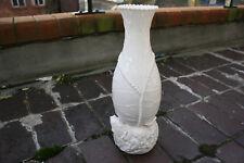 BELLISSIMO Pesce Bianco cinese in porcellana vaso Intagliato