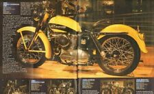 2005 Article: 1955 Harley-Davidson KHK - 2-Page Vintage Motorcycle Article