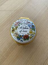Halcyon Days Hd Trinket Pill Box - A Token of Love - Hand Painted 151