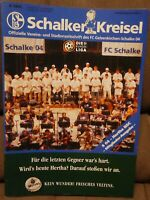 FC Schalke 04 + Kreisel Magazin 30.10.1999 + Bundesliga Hertha BSC Berlin /586