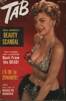 Tab Digest May 1953 Marilyn Monroe Cheesecake Pin Up 070819AME
