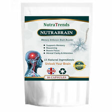 Nutrabrain,a Nootropics Cognitive Enhancers Mental wellness 30 Vegan Capsule