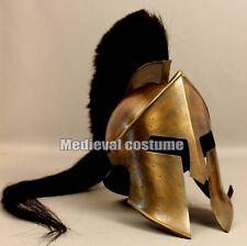 300 King Leonidas Spartan Helmet Warrior Costume Medieval Helmet Liner SCA Gift
