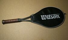 Wilson Ultra/Pws Graphite Tennis Racquet and Case Grip 4 1/4L Racket Vintage